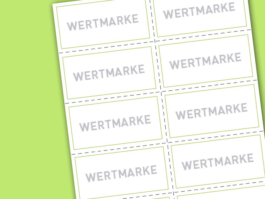 Wertmarken und Biermarken drucken von sonderfarben-druck24.de